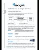 BSEN 1090 Certificate