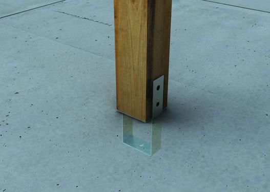 DPACI Desk Post Anchor Concrete In