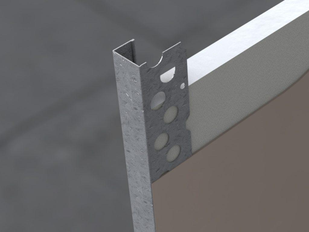 GEB Galvanised Plasterboard Edge Bead