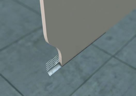 GERS Galvanised External Render Stop (Bell) Bead