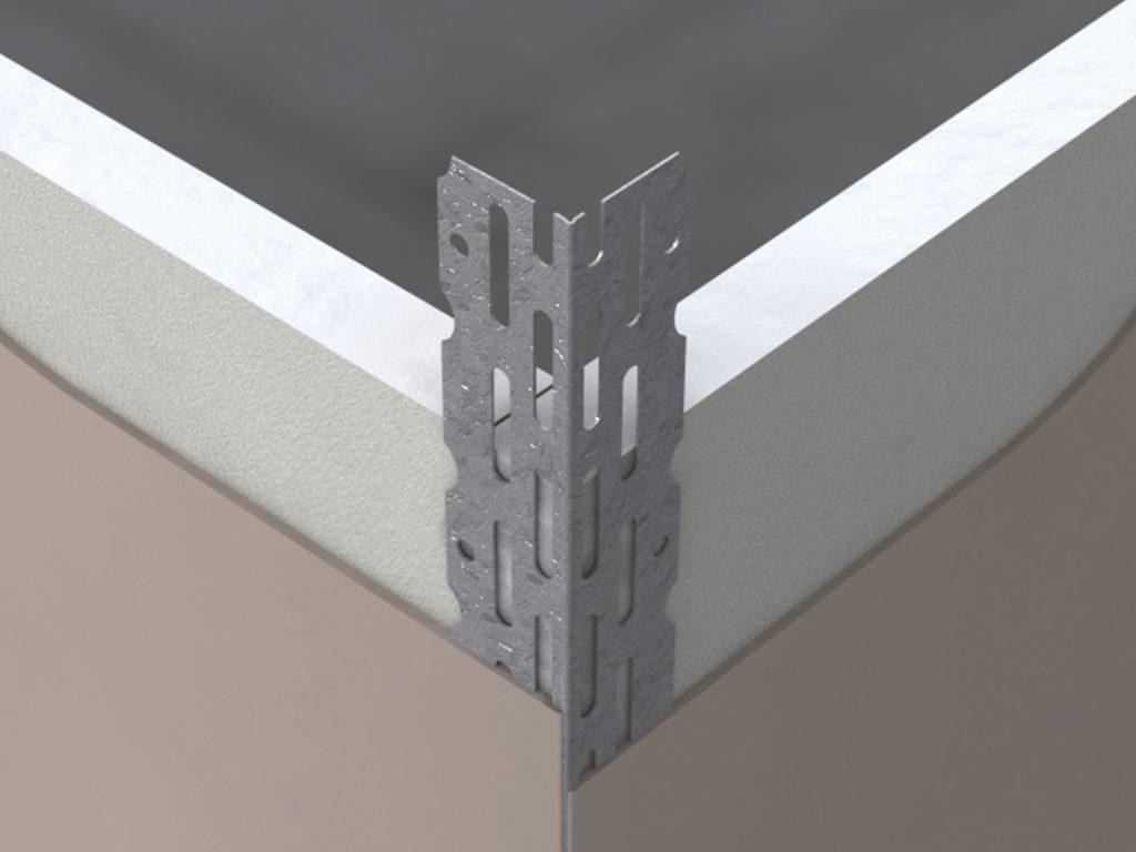 GPTC Galvanised Perforated Thin Coat Bead