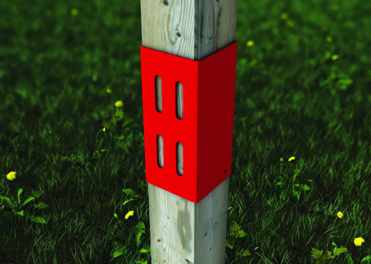 PE Post Extenders for 75mm and 100mm Posts