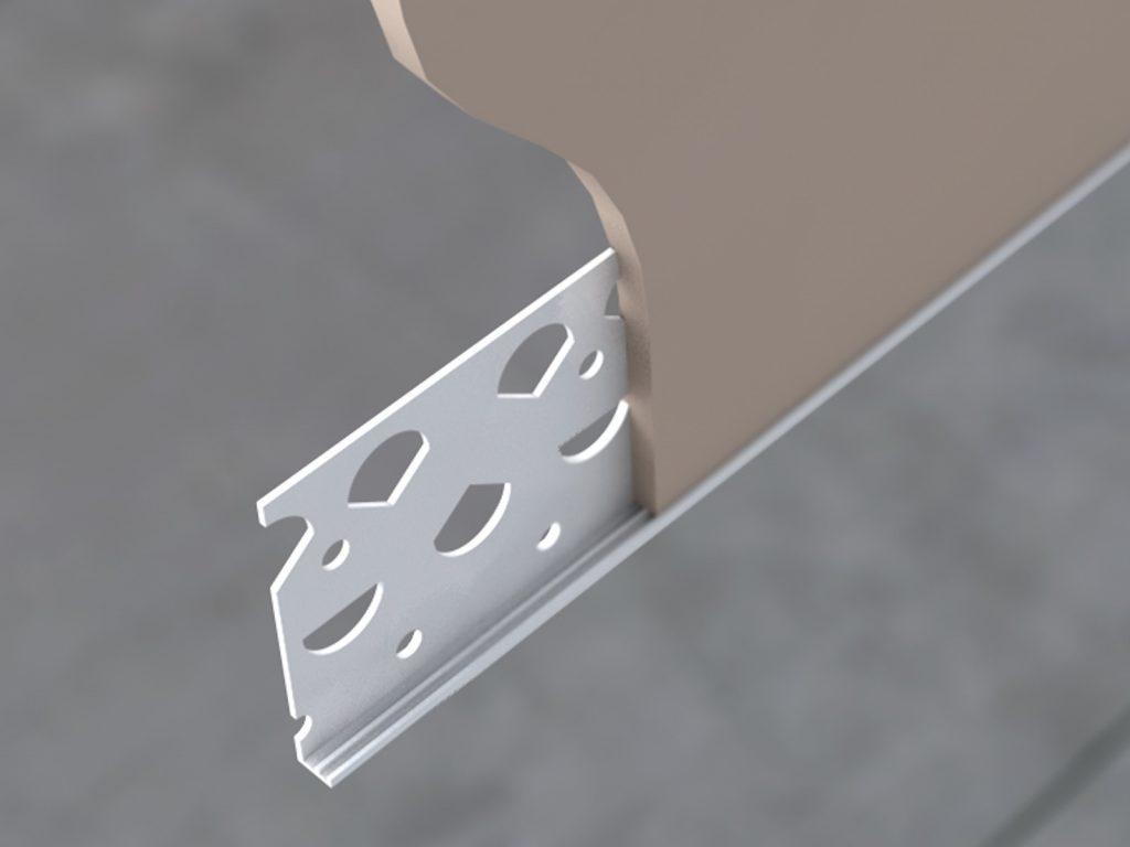 PPS PVC-u Plaster Stop Bead