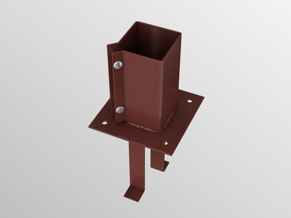 PS2 Concrete-In Post Shoe