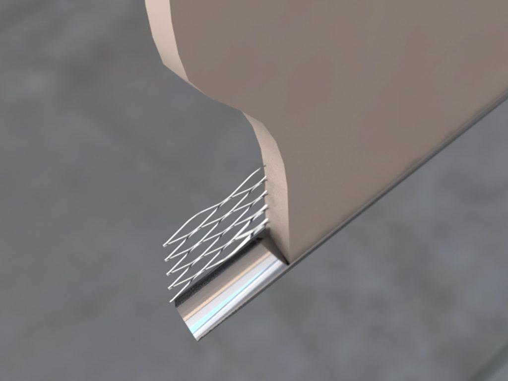 SERS Stainless Steel External Render (Bell) Bead