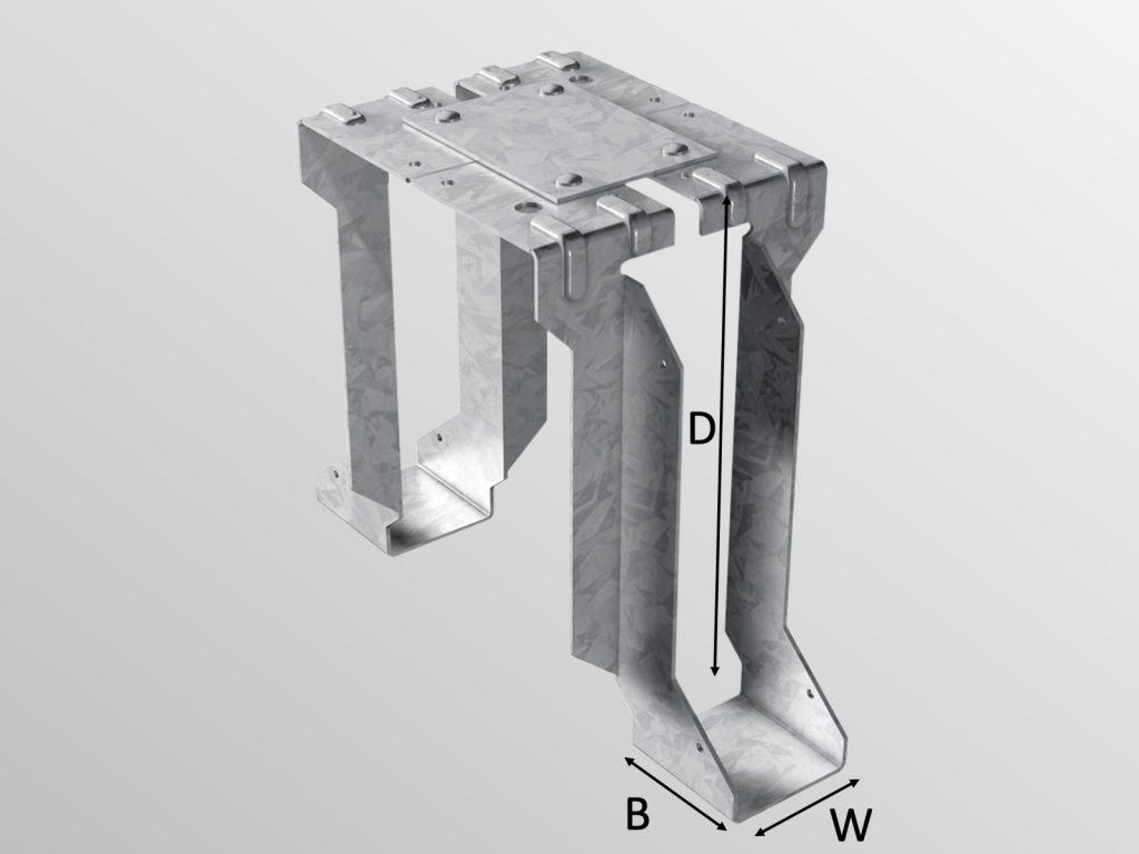 SMH Joist Hanger Type D (STJH)