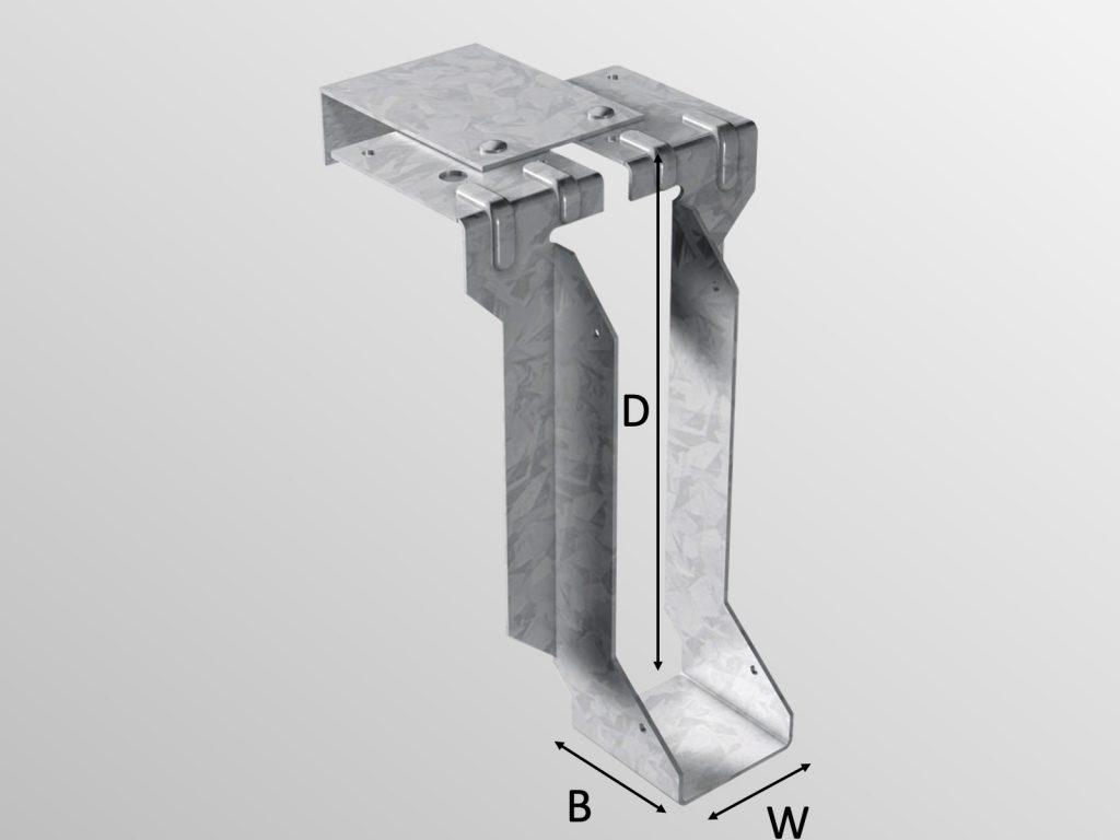 SMH Joist Hanger Type R (RJH)