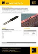 SPE Safety Plain End Tie
