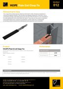 V63PE Plain End Clasp Tie