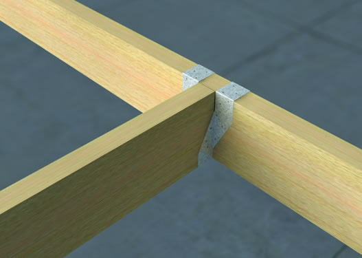 V81-SL Short Leg Timber to Timber Hangers