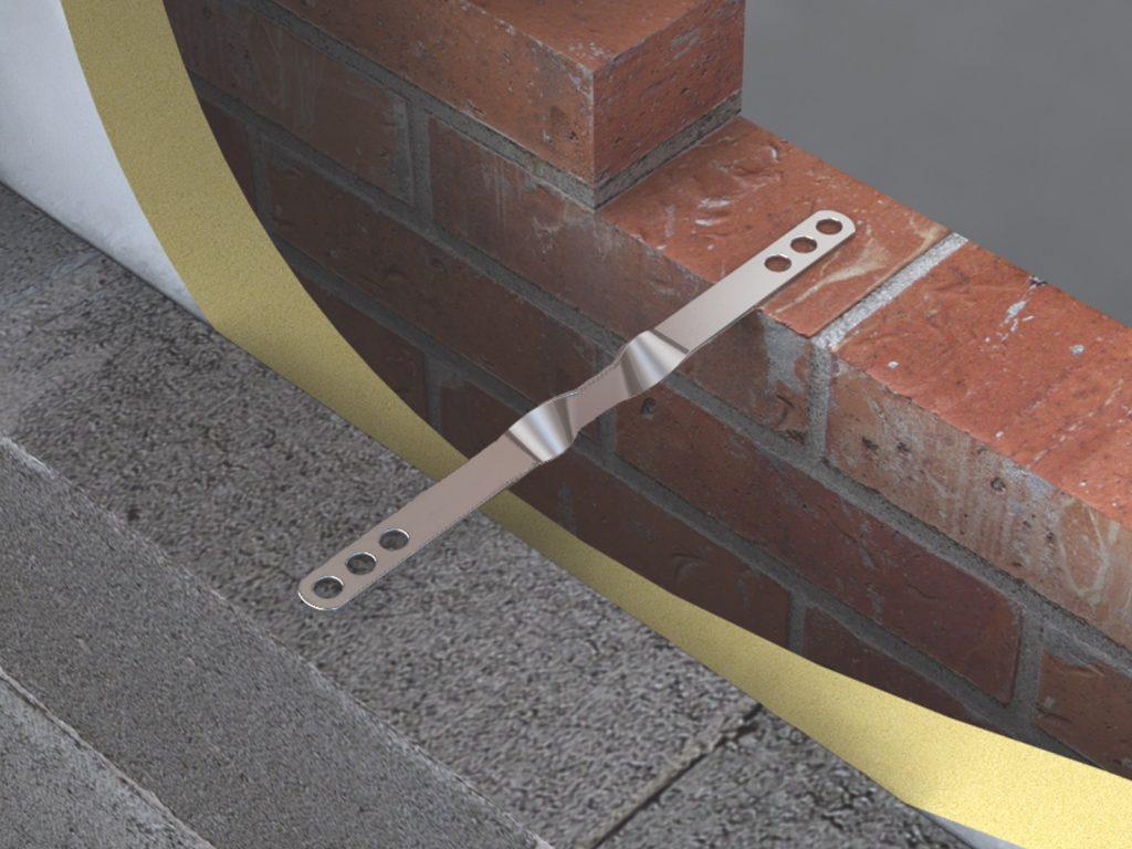 VE1 Heavy Duty Safety Vertical Twist Ties