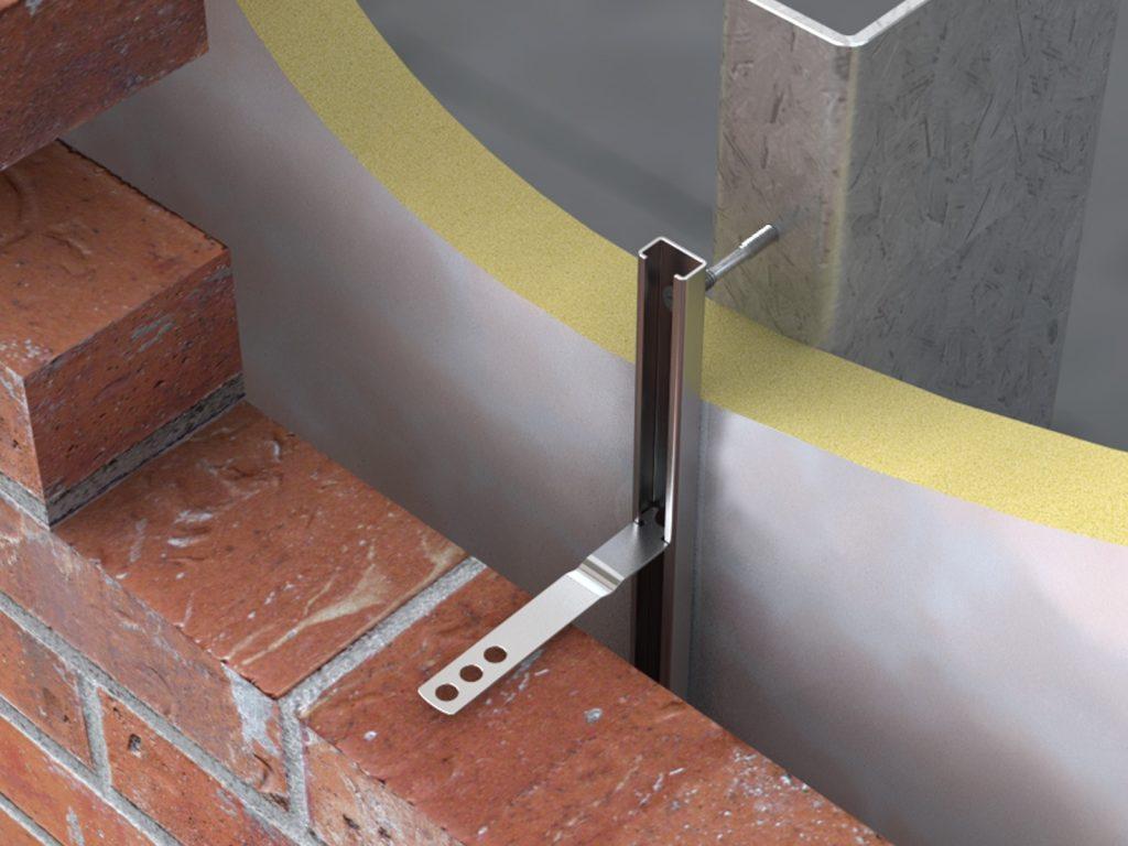VS9 Steel Channel Ties